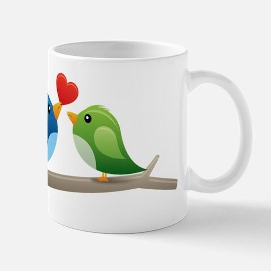 Twitter bird Mugs