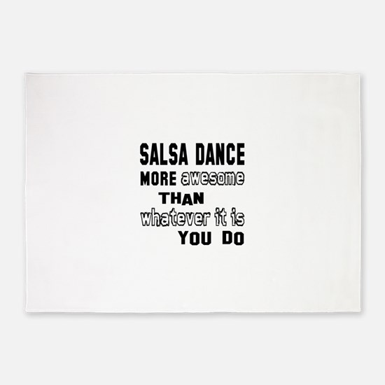 Salsa dance more awesome than what 5'x7'Area Rug
