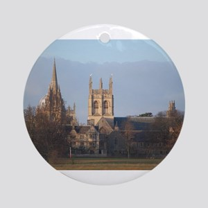 Christchurch College Round Ornament