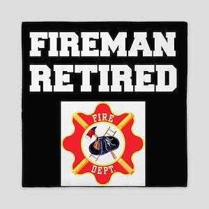 Fireman Retired Queen Duvet