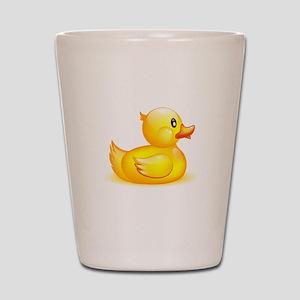 Rubber duck Shot Glass