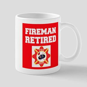 Fireman Retired Mugs