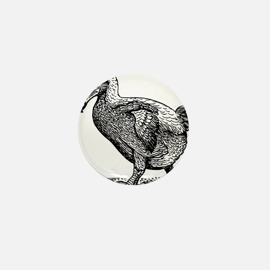 Dodo bird clip art Mini Button