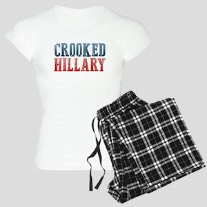 Crooked Hillary Women's Light Pajamas