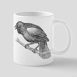 Black bird clip art Mugs