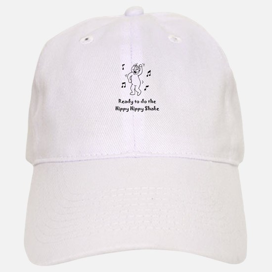 Ready to do the Hippy Hippy Shake Baseball Baseball Cap