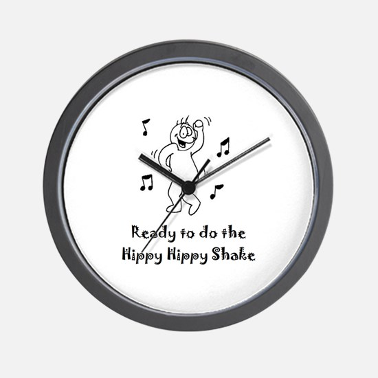 Ready to do the Hippy Hippy Shake Wall Clock
