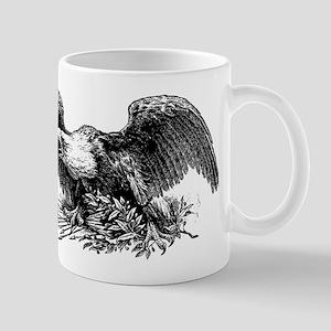 War eagle clip art Mugs