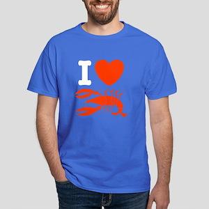 I Love Lobster Dark T-Shirt