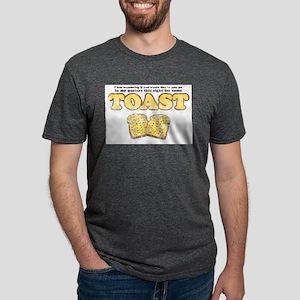Toast (Vintage Look) Ash Grey T-Shirt