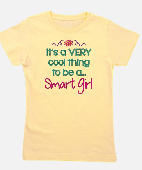 Cool to be a Smart Girl! Girl's Tee