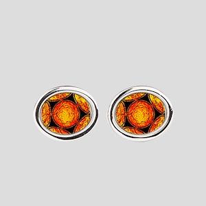 GOAL Oval Cufflinks
