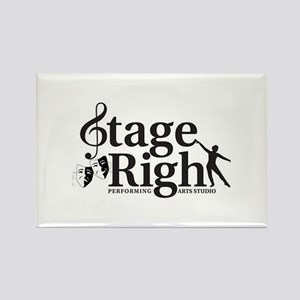 Stage Right logo Magnets