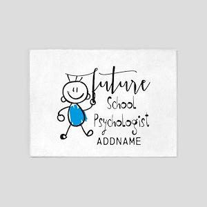 Future School Psychologist Personal 5'x7'Area Rug