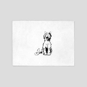Cat meow clip art 5'x7'Area Rug