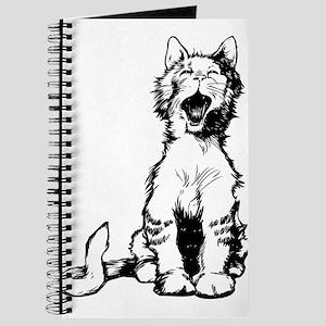 Cat meow clip art Journal
