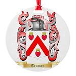 Truman Round Ornament