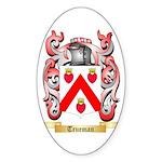 Trueman Sticker (Oval)