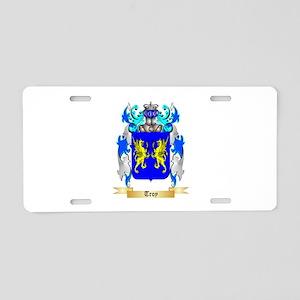 Troy Aluminum License Plate