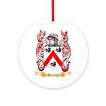 Trottier Round Ornament