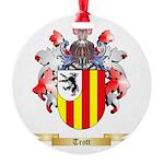 Trott Round Ornament