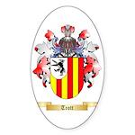 Trott Sticker (Oval 50 pk)