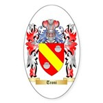 Troni Sticker (Oval 50 pk)