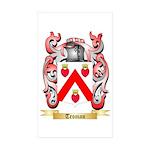 Troman Sticker (Rectangle 50 pk)
