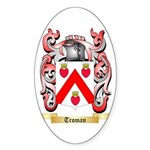 Troman Sticker (Oval)