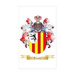 Troate Sticker (Rectangle 50 pk)