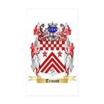 Triscott Sticker (Rectangle 10 pk)