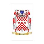 Triscott Sticker (Rectangle 50 pk)
