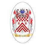 Triscott Sticker (Oval)
