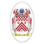 Triscott Sticker (Oval 10 pk)