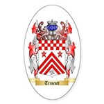 Triscott Sticker (Oval 50 pk)