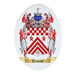 Triscott Oval Ornament