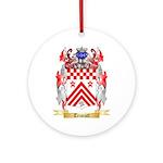 Triscott Round Ornament