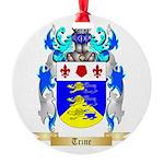 Trine Round Ornament