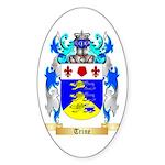 Trine Sticker (Oval 50 pk)