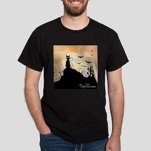 Silhouette halloween wallpaper T-Shirt