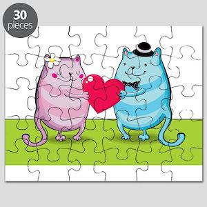 Valentine cats Puzzle