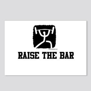 RAISE THE BAR Postcards (Package of 8)