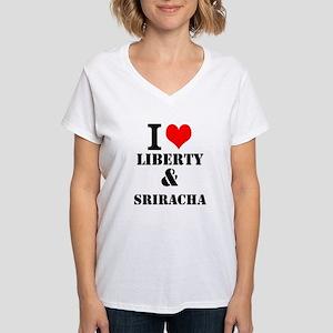Sriracha Women's V-Neck T-Shirt
