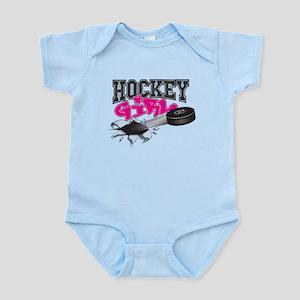 Hockey Girl Onsie (pink, Green, Blue, Body Suit
