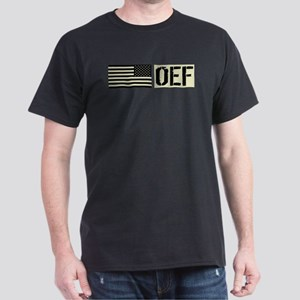 U.S. Military: OEF (Black Flag) Dark T-Shirt