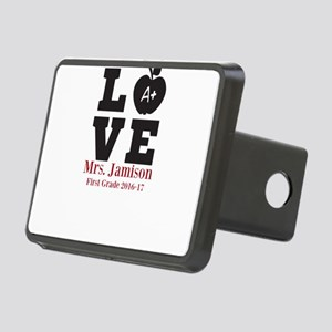 Love for My Teacher Personalized Hitch Cover