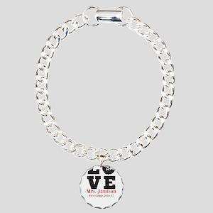 Love for My Teacher Personalized Bracelet
