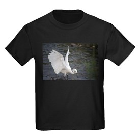 egret fishing T-Shirt