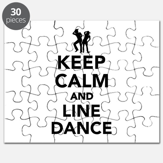 Keep calm and line dance Puzzle