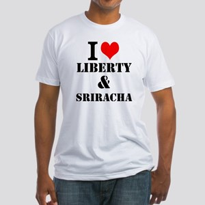 Sriracha Fitted T-Shirt